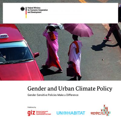Book Cover: Gender and Urban Climate Policy. Gender-sensitive policies make a difference